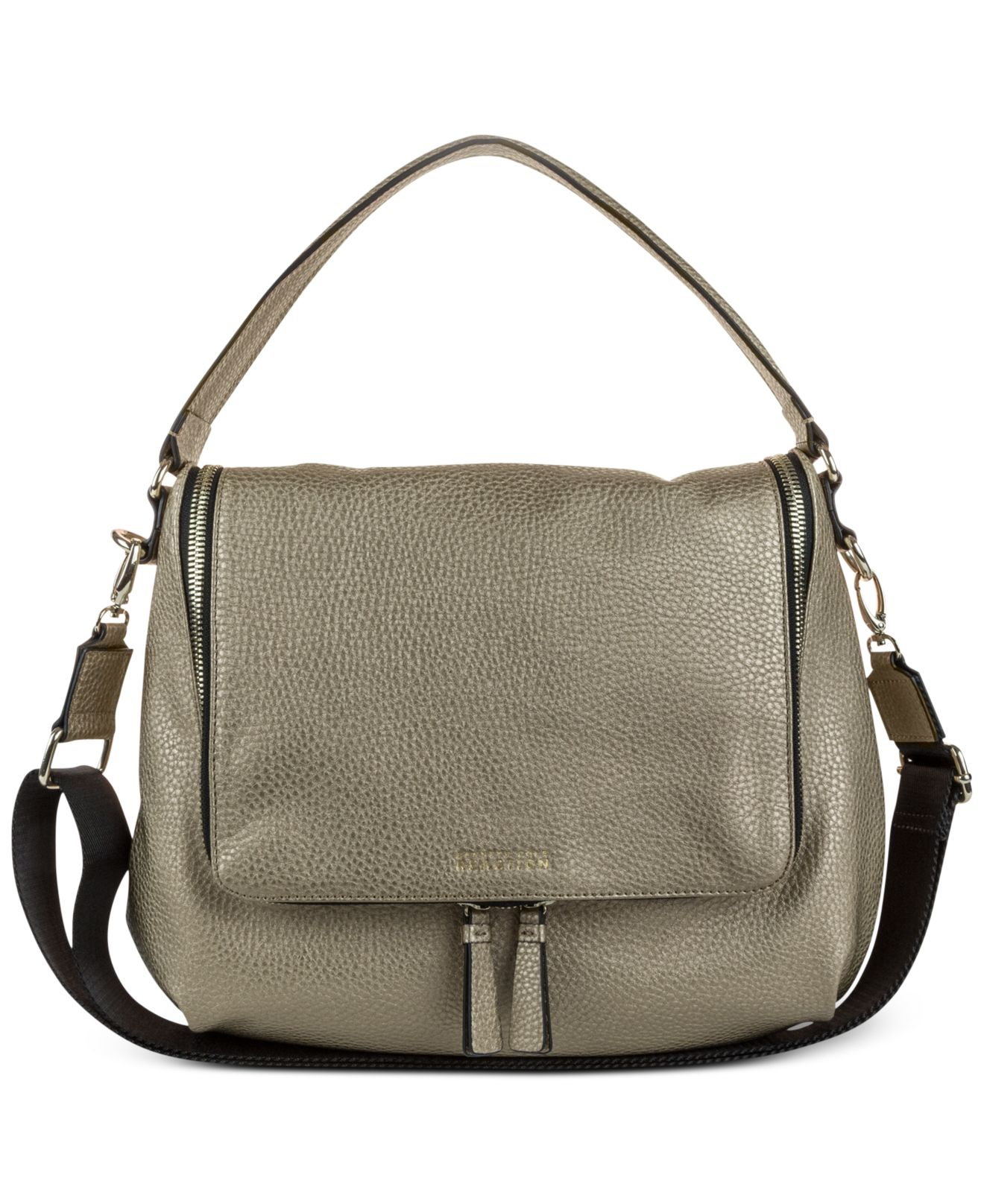 37ad28dc04 Lyst - Kenneth Cole Reaction Avery Hobo in Black