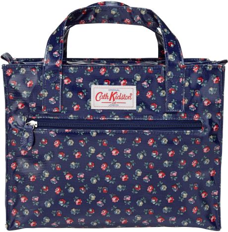 Cath Kidston Elgin Ditsy Floral Print Box Bag In Blue | Lyst