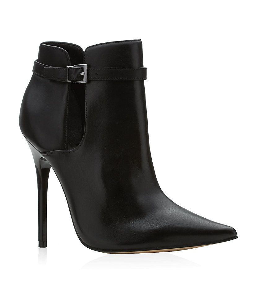 Carvela Kurt Geiger Get Stiletto Shoe Boots In Black | Lyst