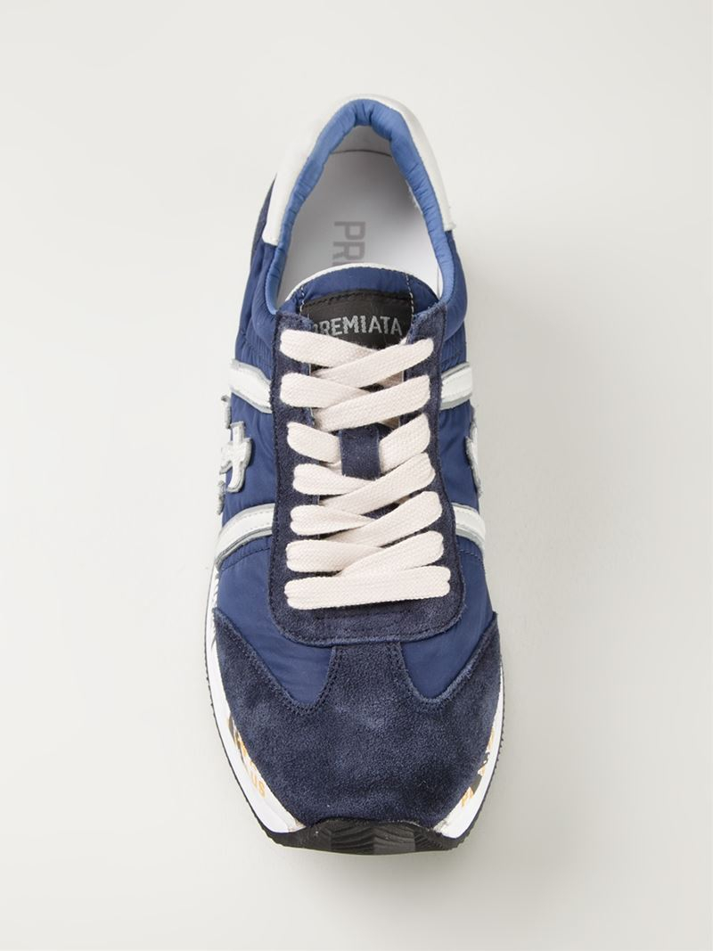 Conny sneakers - Blue Premiata Classic For Sale Quality From China Wholesale Cheap Sale 100% Guaranteed Free Shipping Amazon Sale 6TlvftjDe