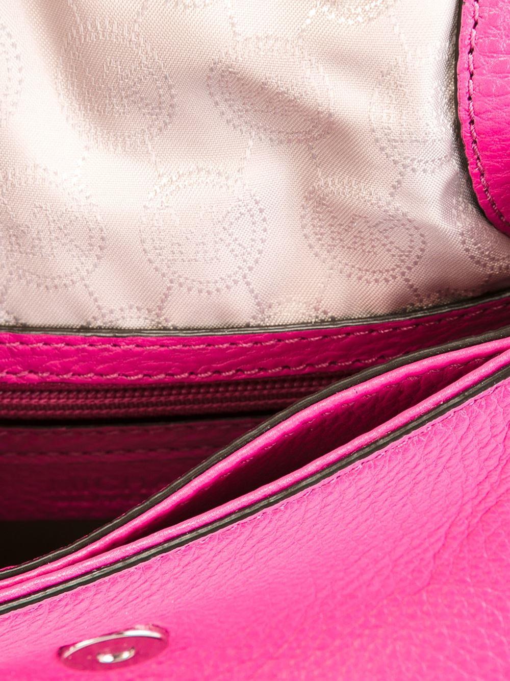 MICHAEL Michael Kors Borsa Crossbody Bedford in Pink