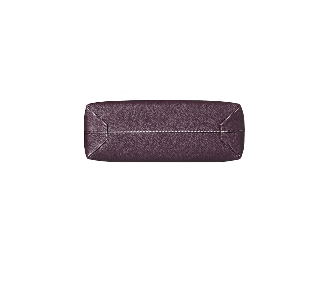 chinese replica handbags - hermes double sens peony red