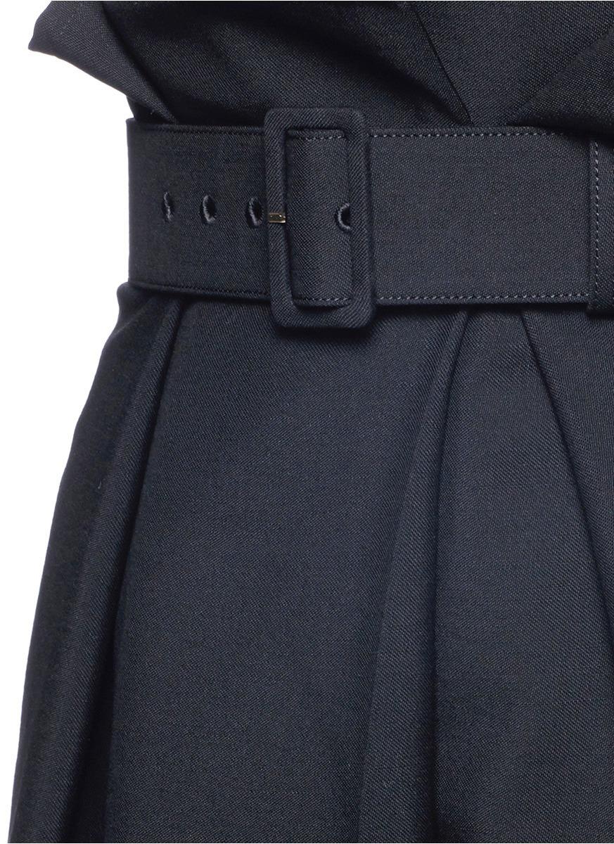 Crepe Paper Bag Pants