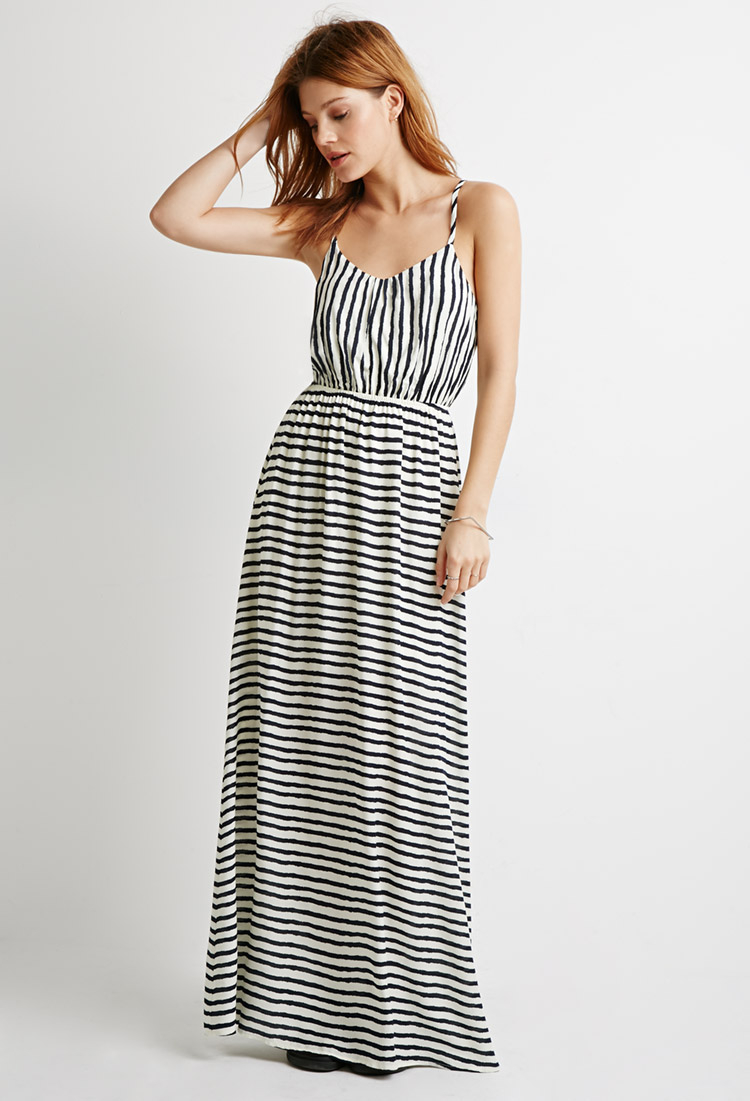 Back cut out maxi dresses