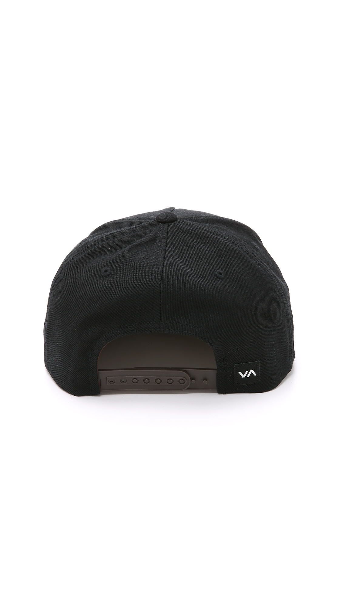 f82d8bb5 ... authentic rvca commonwealth snapback hat in black for men lyst 6670f  294cb