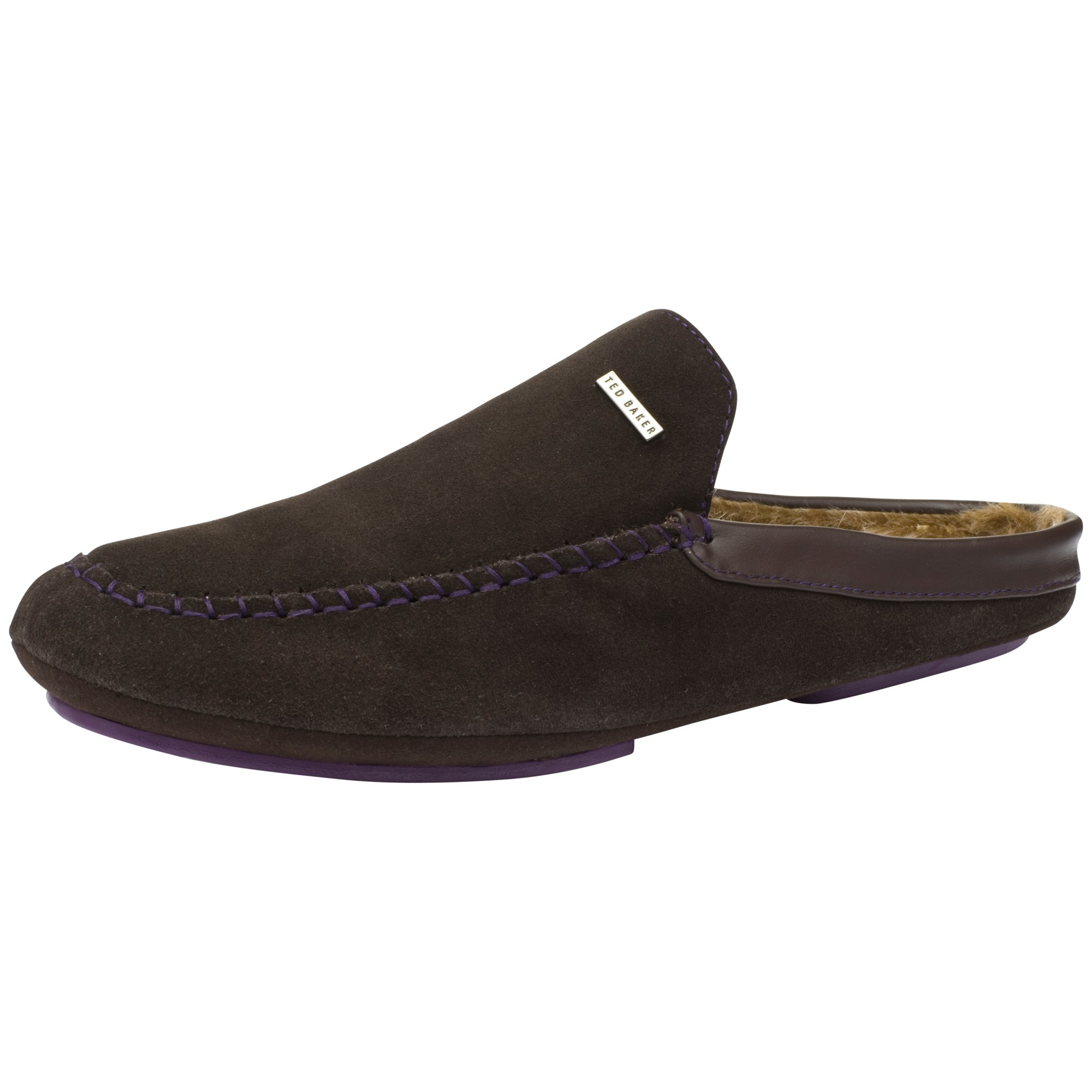 3e6bae7a1 Ted Baker Parkor Mule Slippers in Brown for Men - Lyst