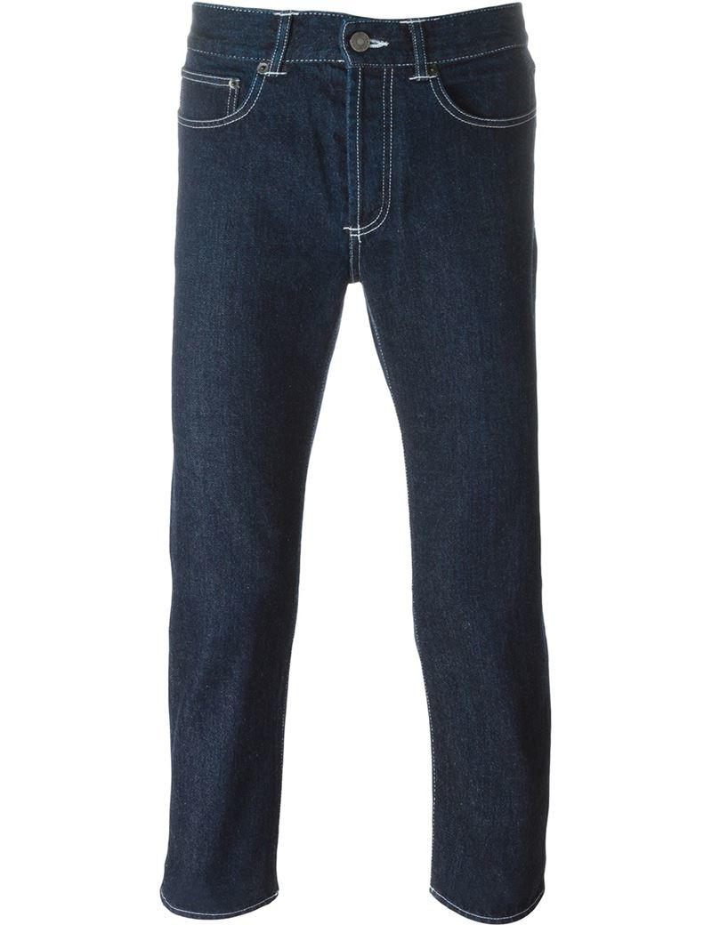 givenchy slim fit jeans in blue for men lyst. Black Bedroom Furniture Sets. Home Design Ideas