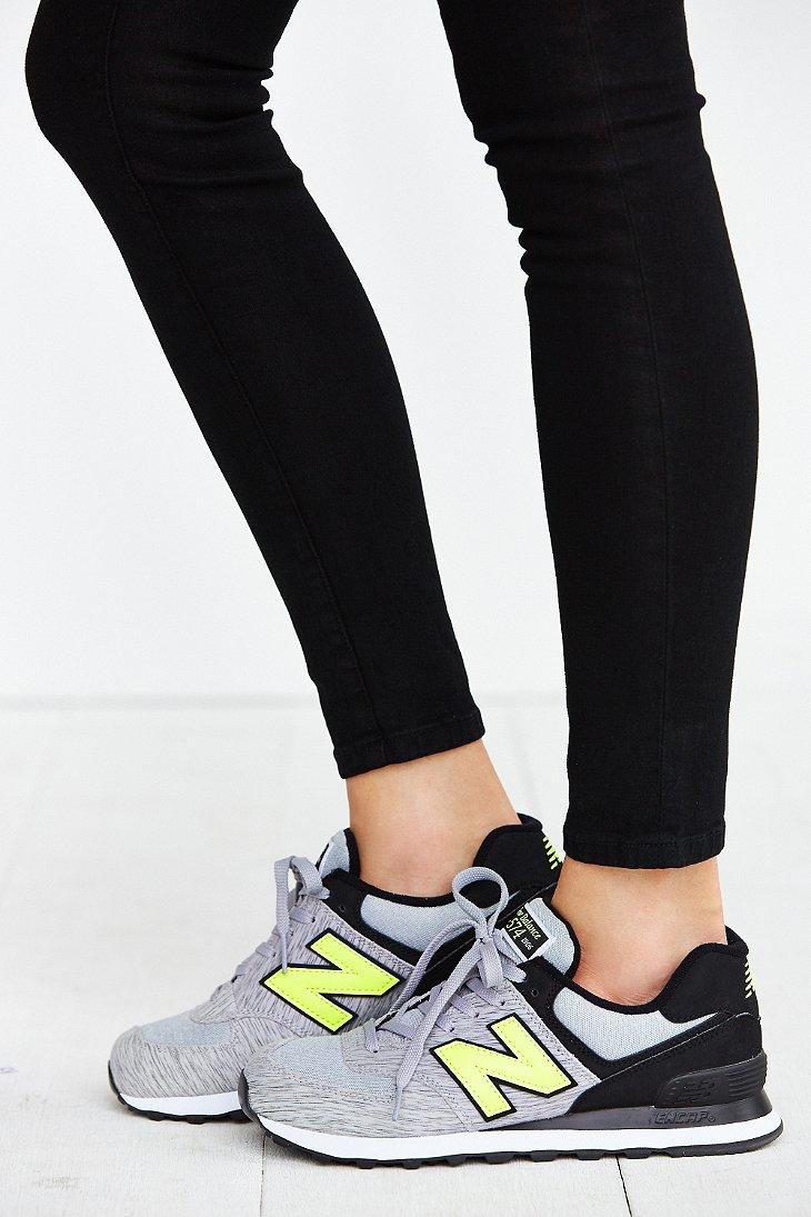 new balance womens 574 sweatshirt sneakers