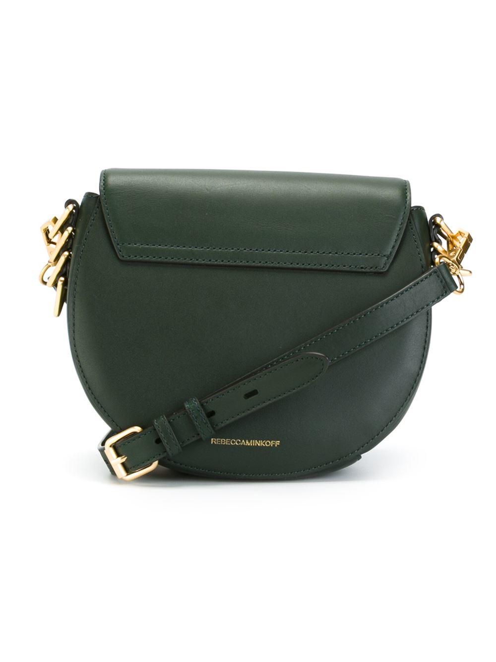 Rebecca Minkoff Leather 'astor' Crossbody Bag in Green
