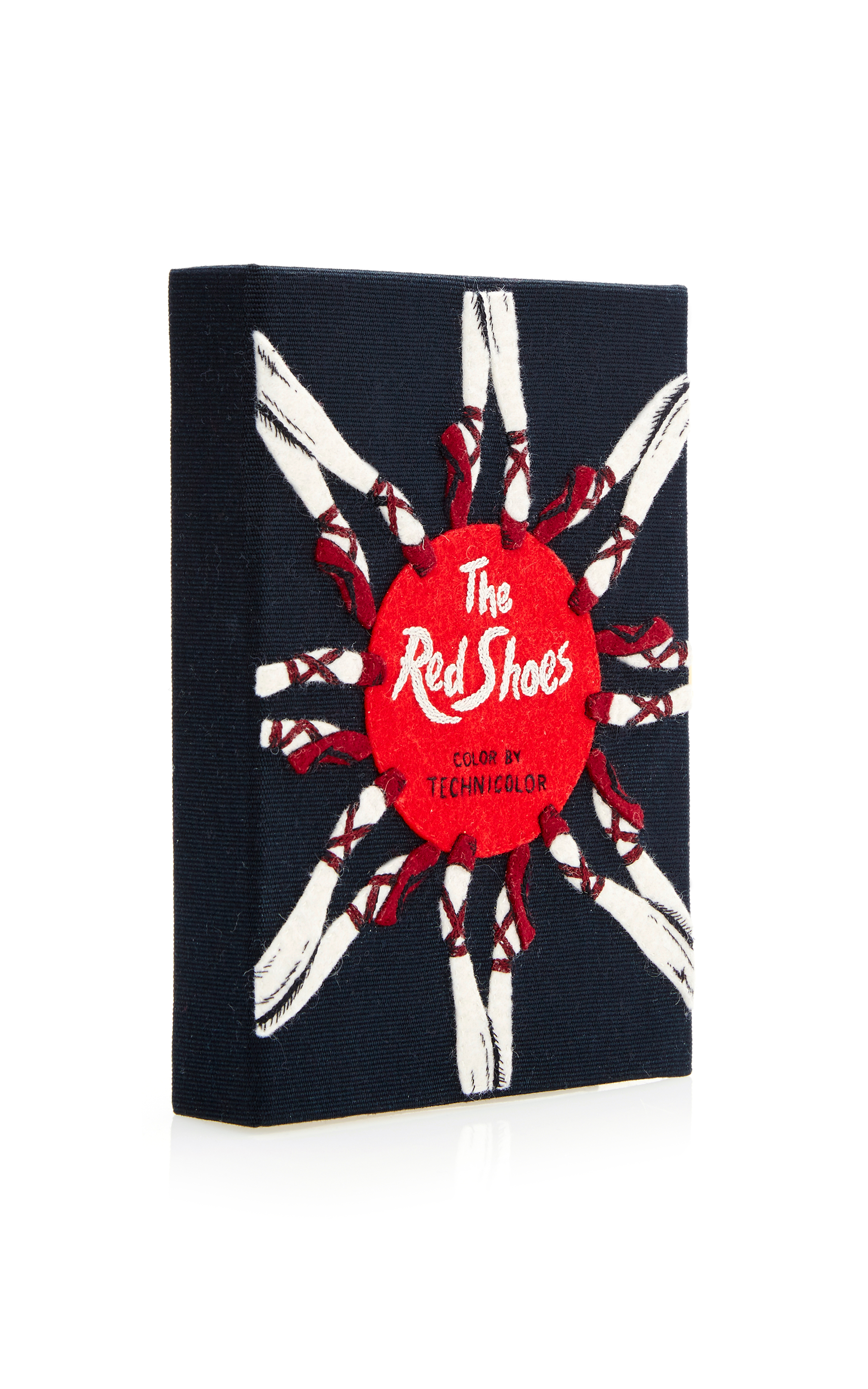 Olympia le tan the Red Shoes Book Bag in Black
