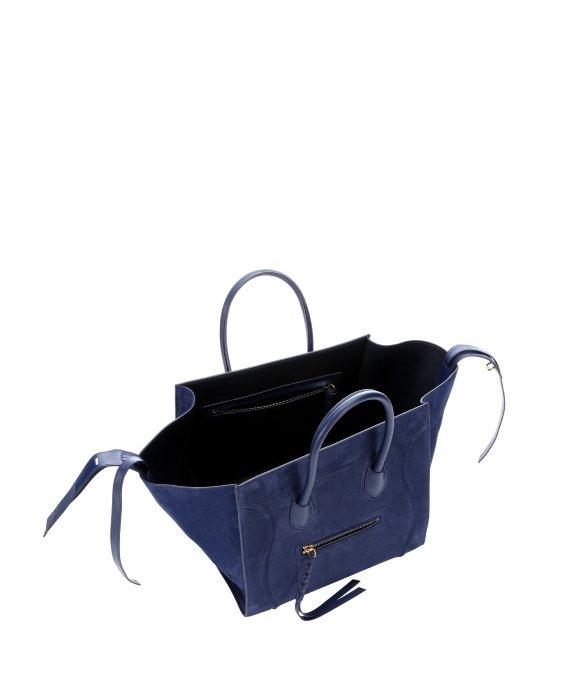 where can i buy celine bags online - celine klein blue suede phantom