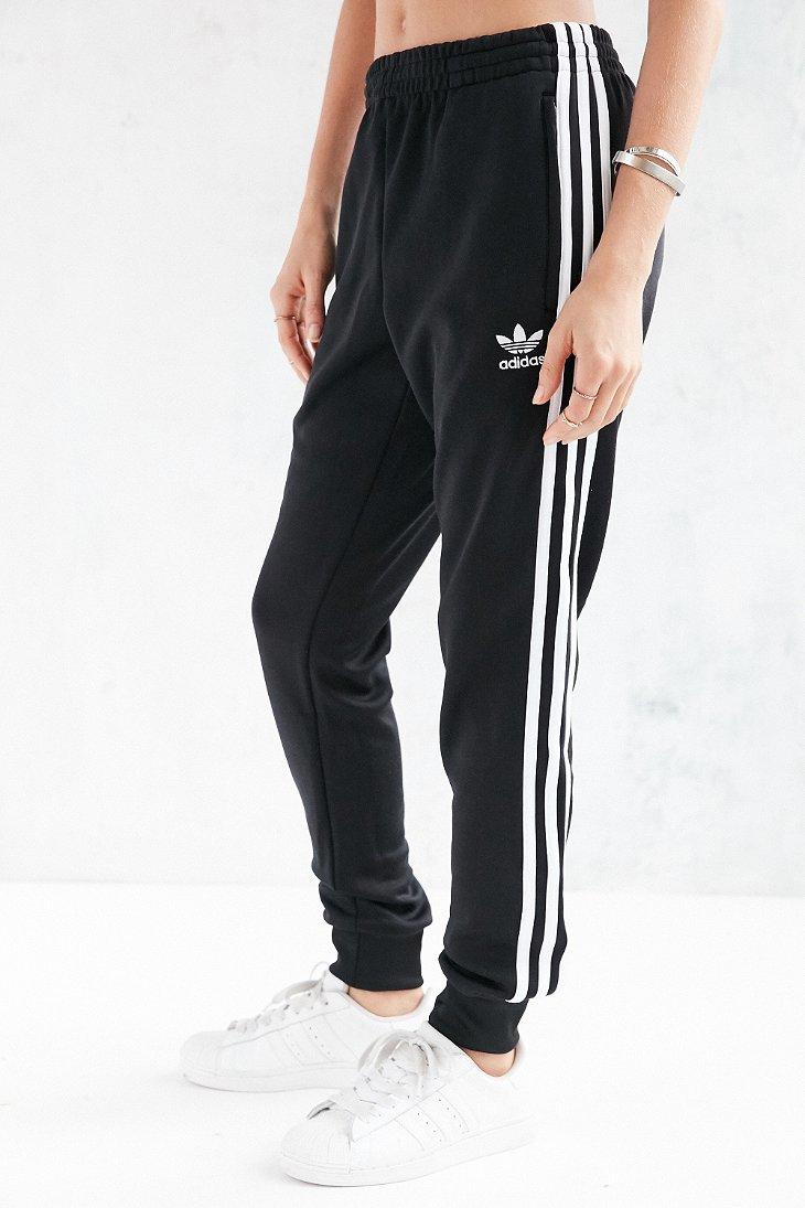 Adidas Originals Originals Supergirl Track Pant In Black