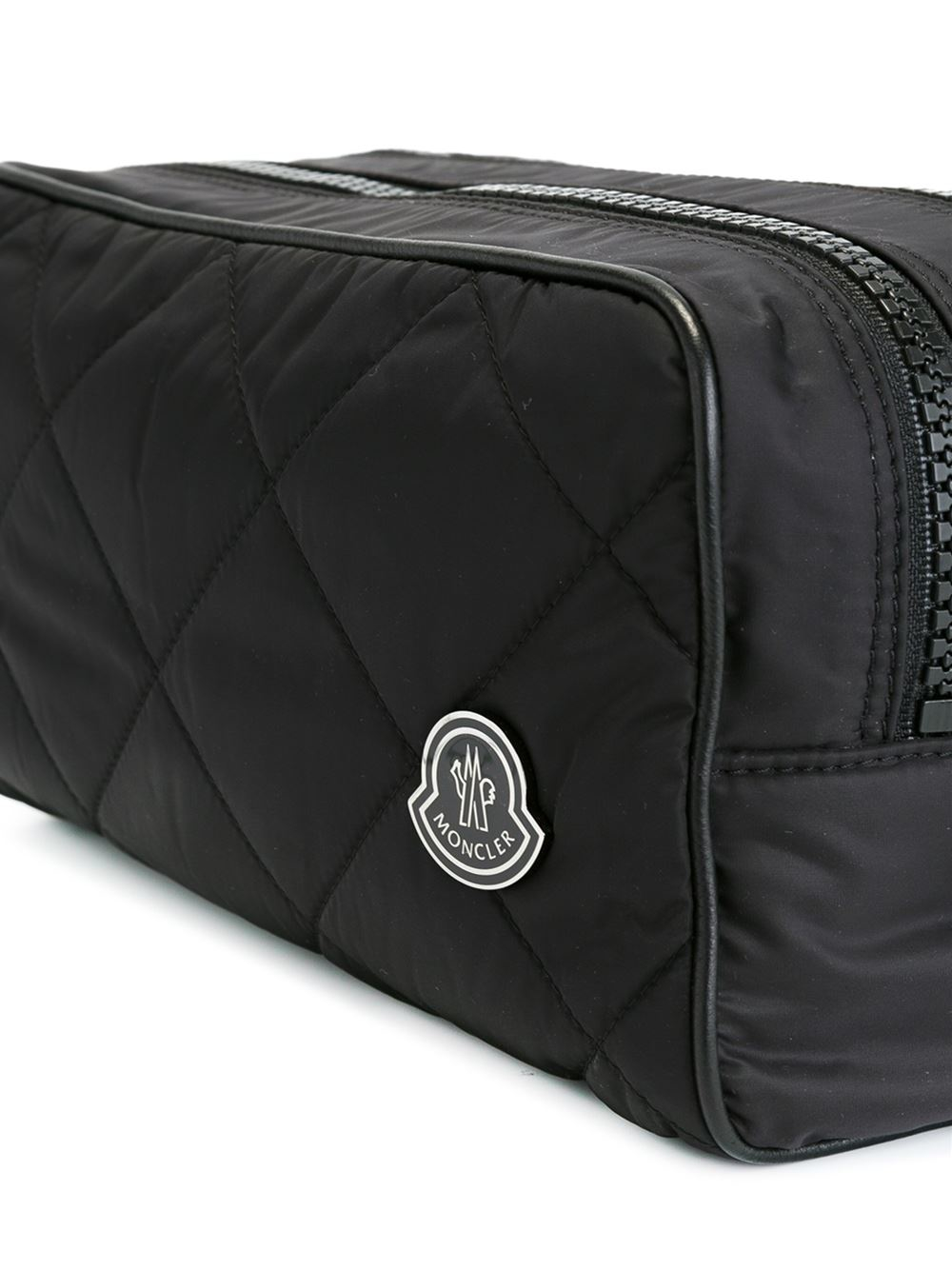 Lyst - Moncler Quilted Wash Bag in Black for Men b6ea9c7e385e5