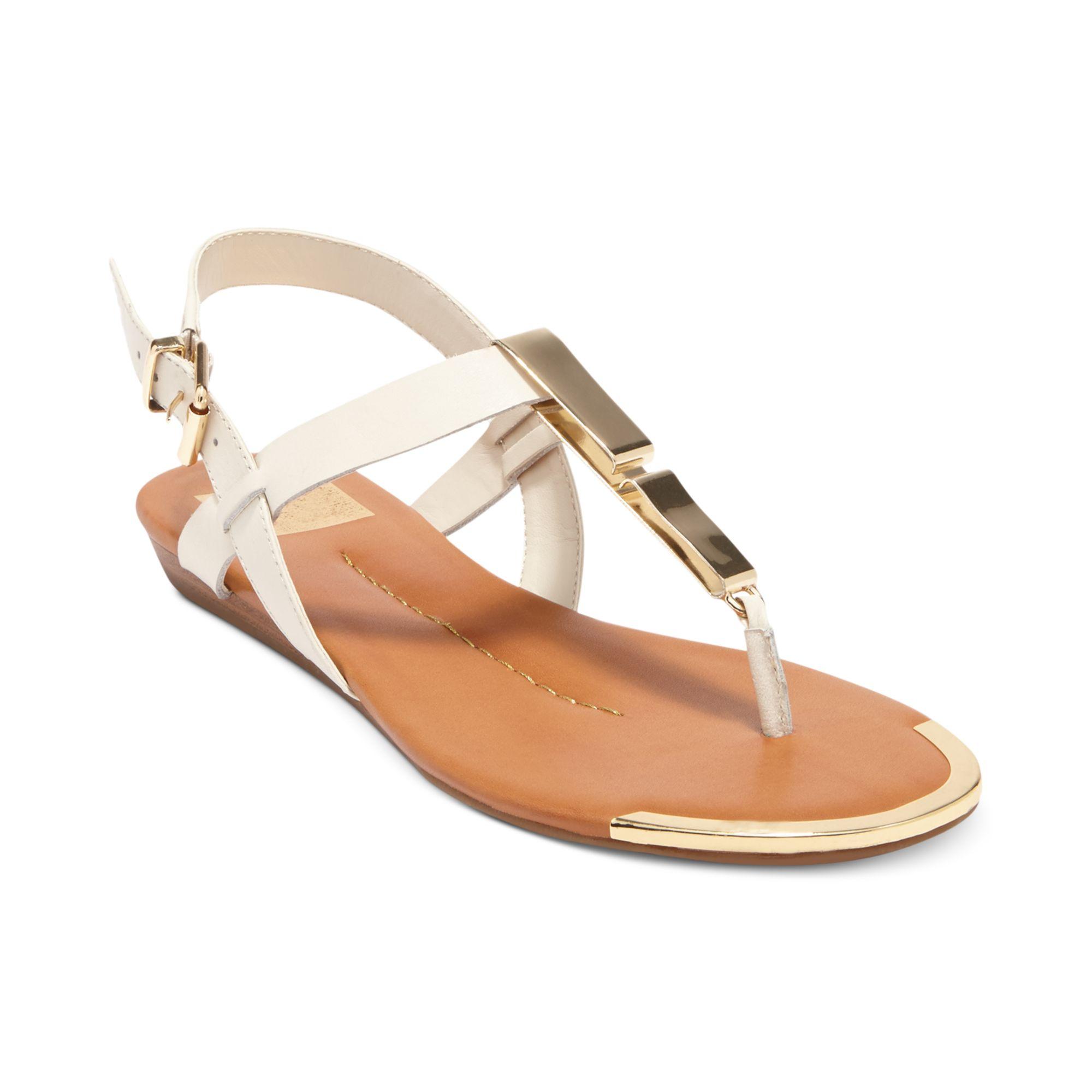 31f7b7b24 Lyst dolce vita abley flat thong sandals in white jpg 2000x2000 Dv sandals