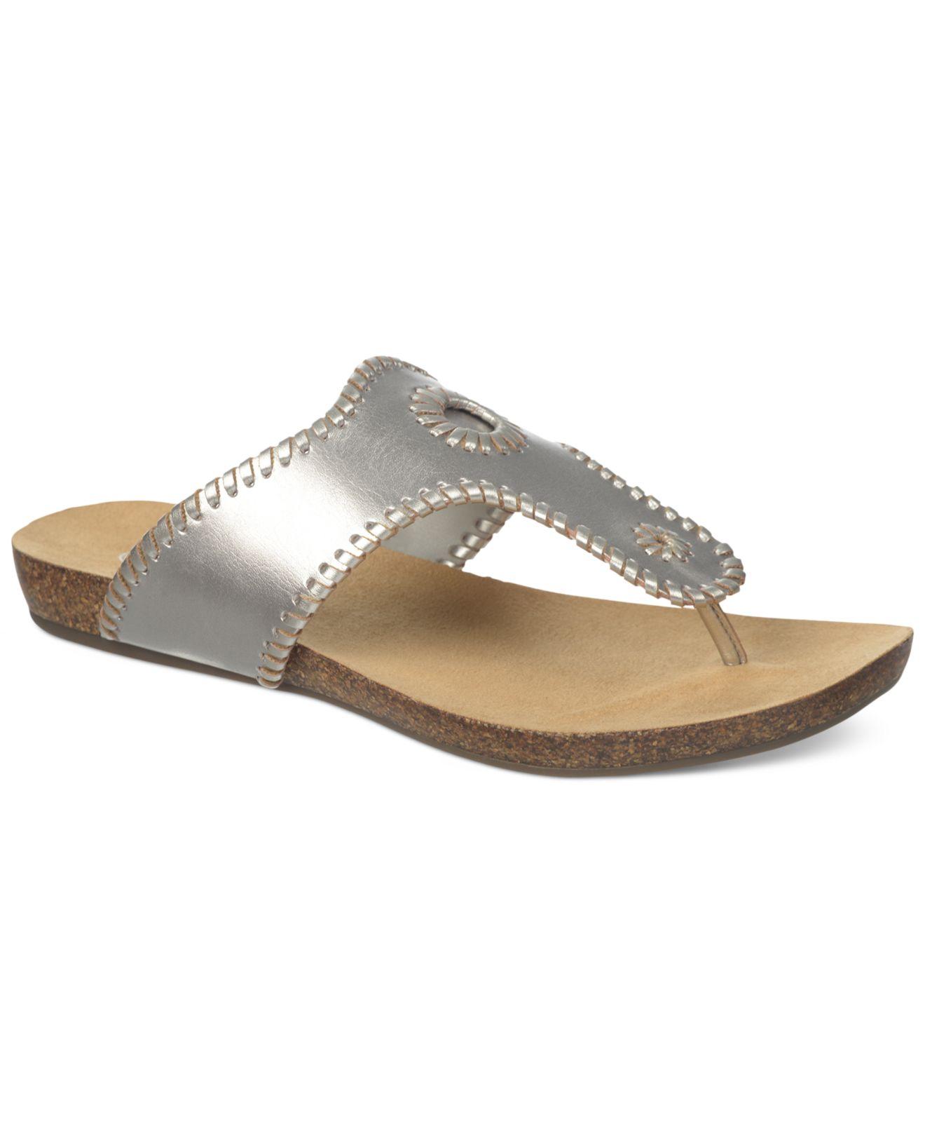 251de4e49c9a6 Lyst - Dr. Scholls Ridley Footbed Thong Sandals in Metallic
