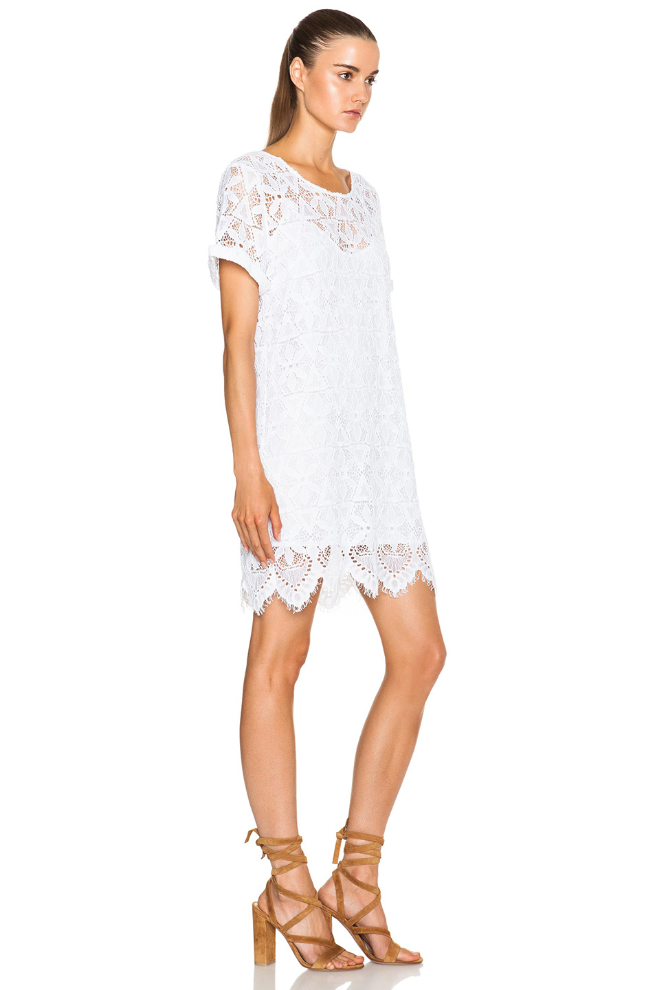 Le Boyfriend Lace Dress