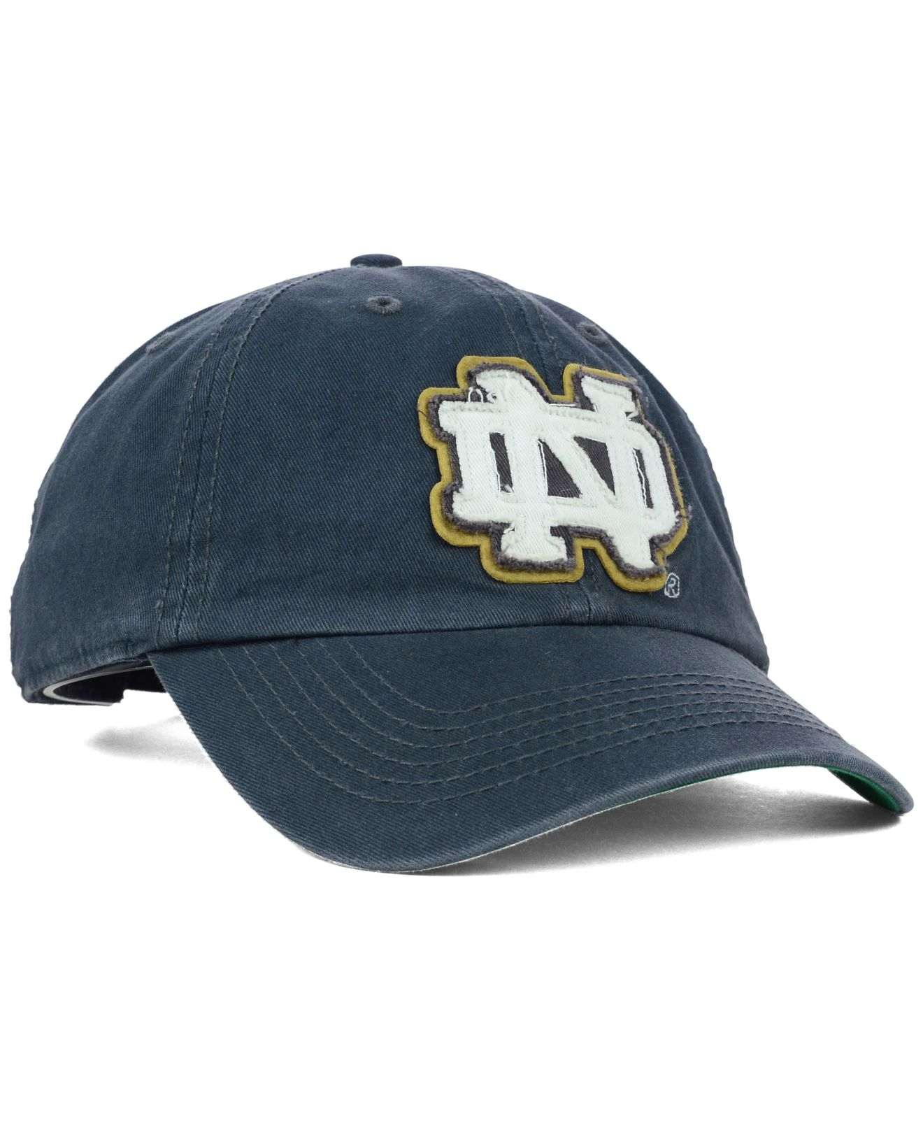 new arrival 23d08 44d2a ... canada lyst 47 brand notre dame fighting irish gibraltar clean up cap  in a4b87 98a79