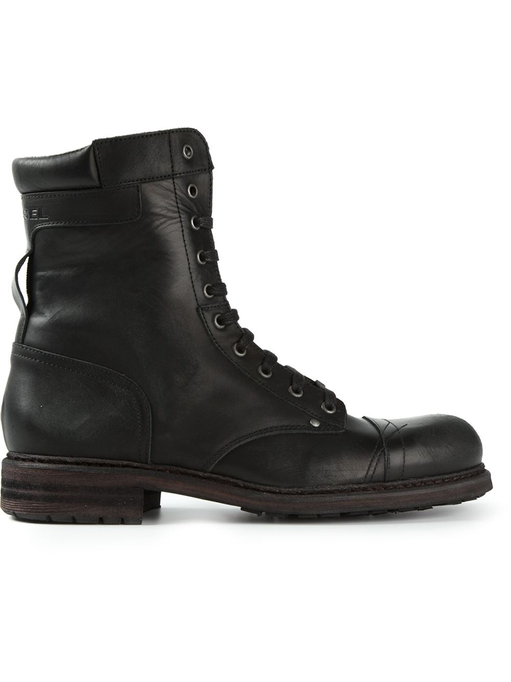 diesel cassidy boots in black for men lyst