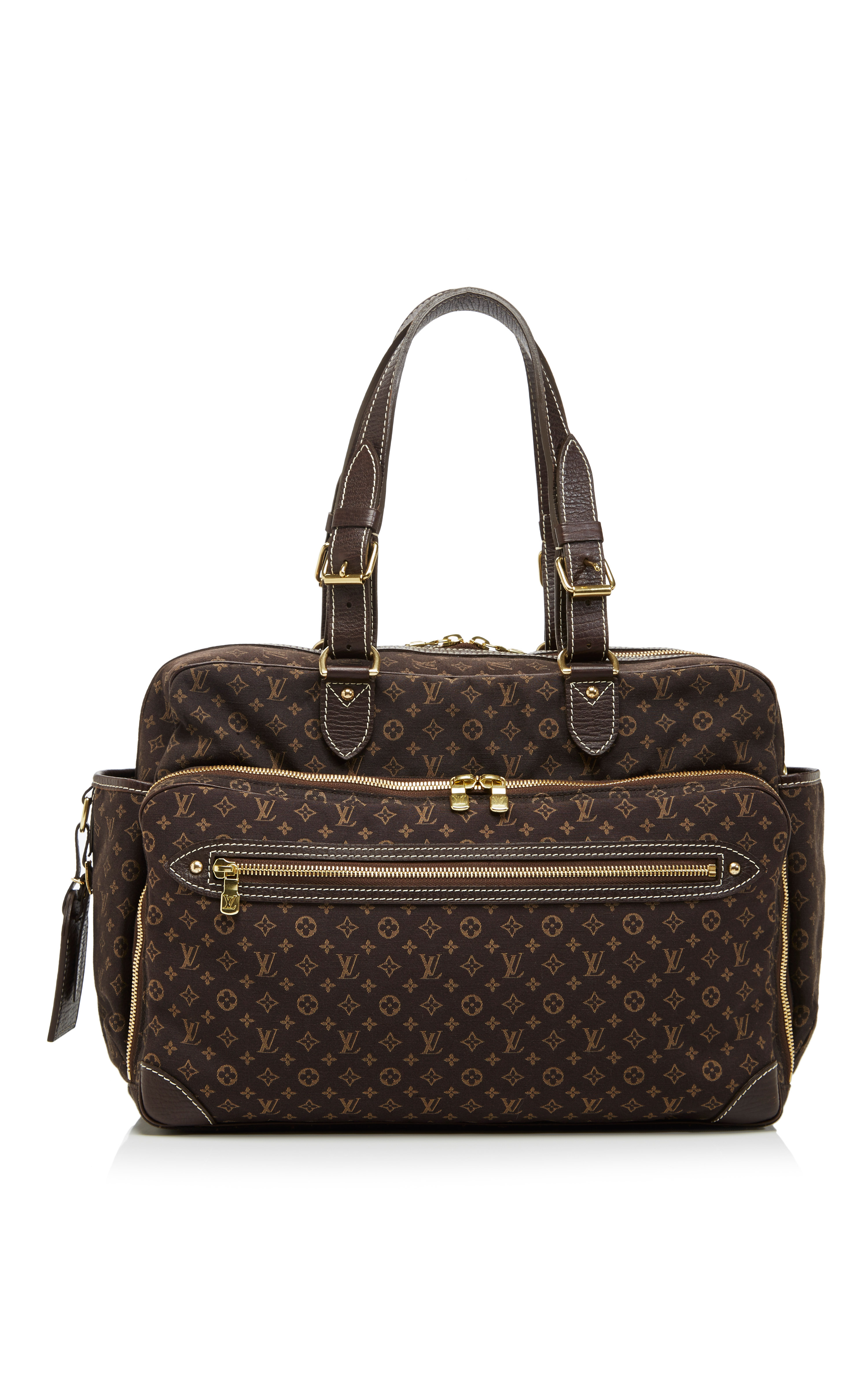 louis vuitton monogram mini lin sac a langer in brown multi lyst. Black Bedroom Furniture Sets. Home Design Ideas
