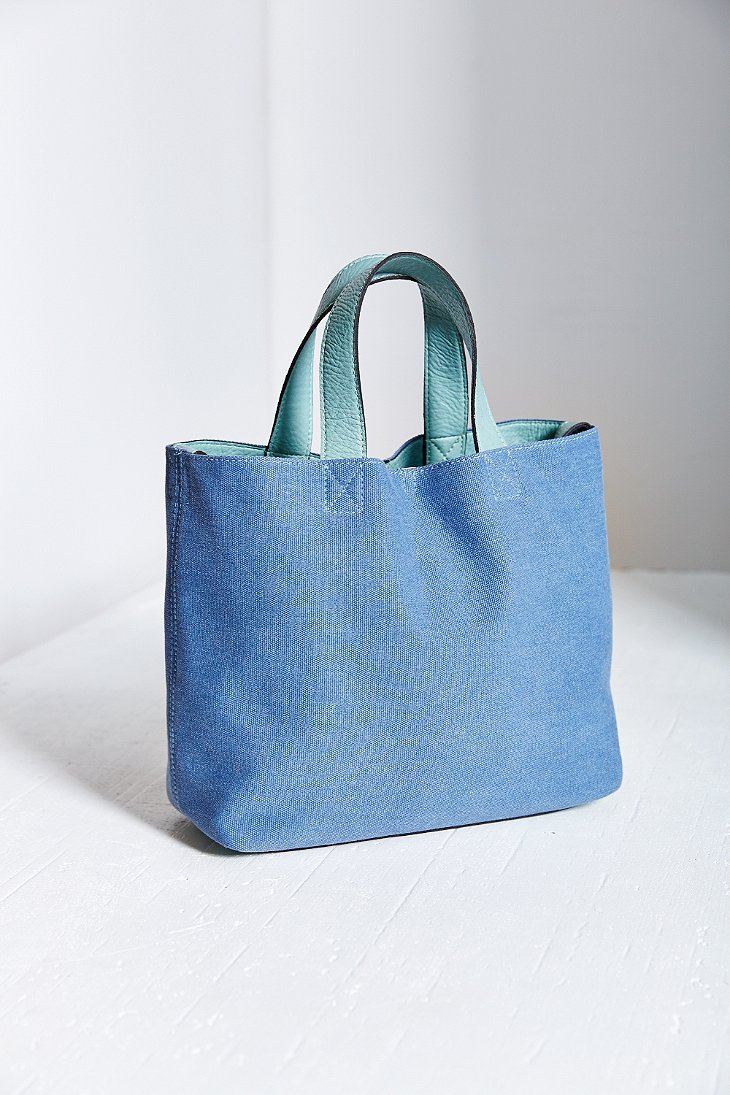 Bdg Canvas Mini Tote Bag in Blue | Lyst