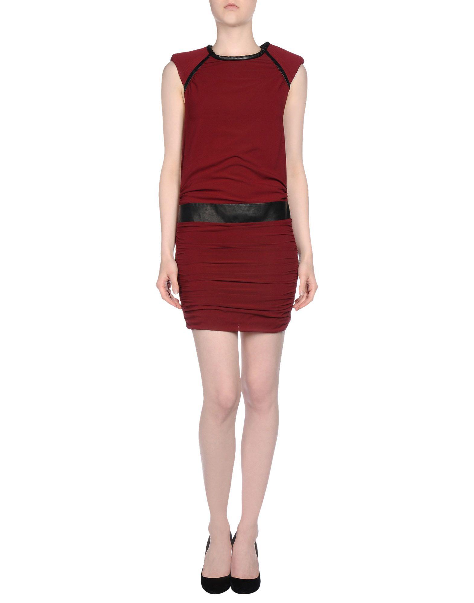 79d8a8ae322 Lyst - IRO Short Dress in Purple