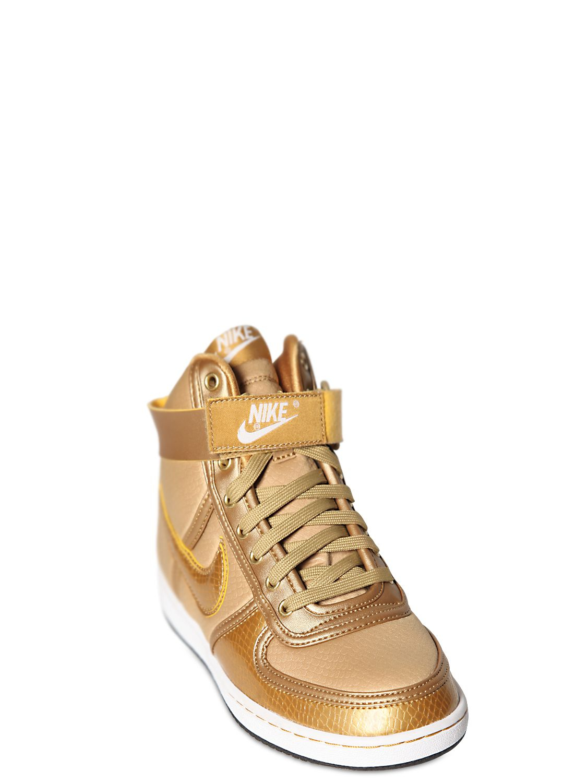 Lyst - Nike Vandal High Top Sneakers in Metallic for Men