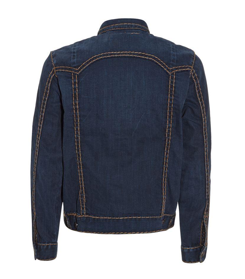 True Religion Danny Denim Jacket in Blue for Men