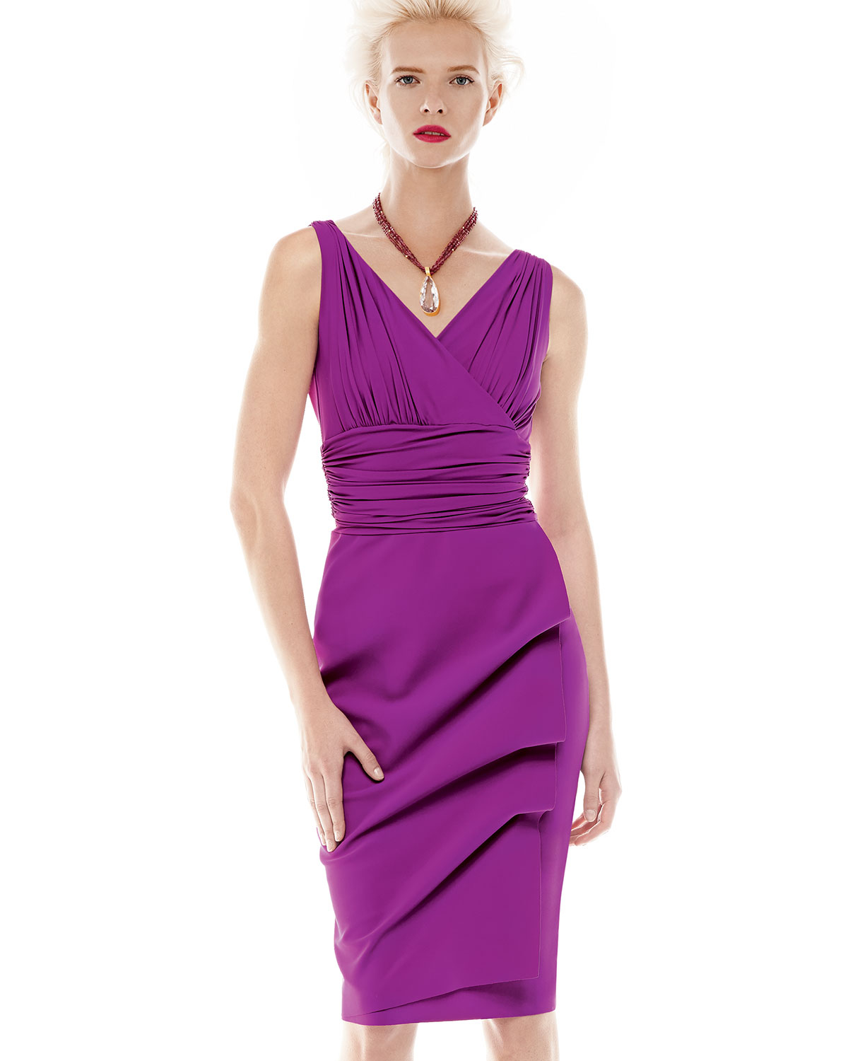 Chiara Boni The Most Popular Dress In America: La Petite Robe Di Chiara Boni Becky Sleeveless