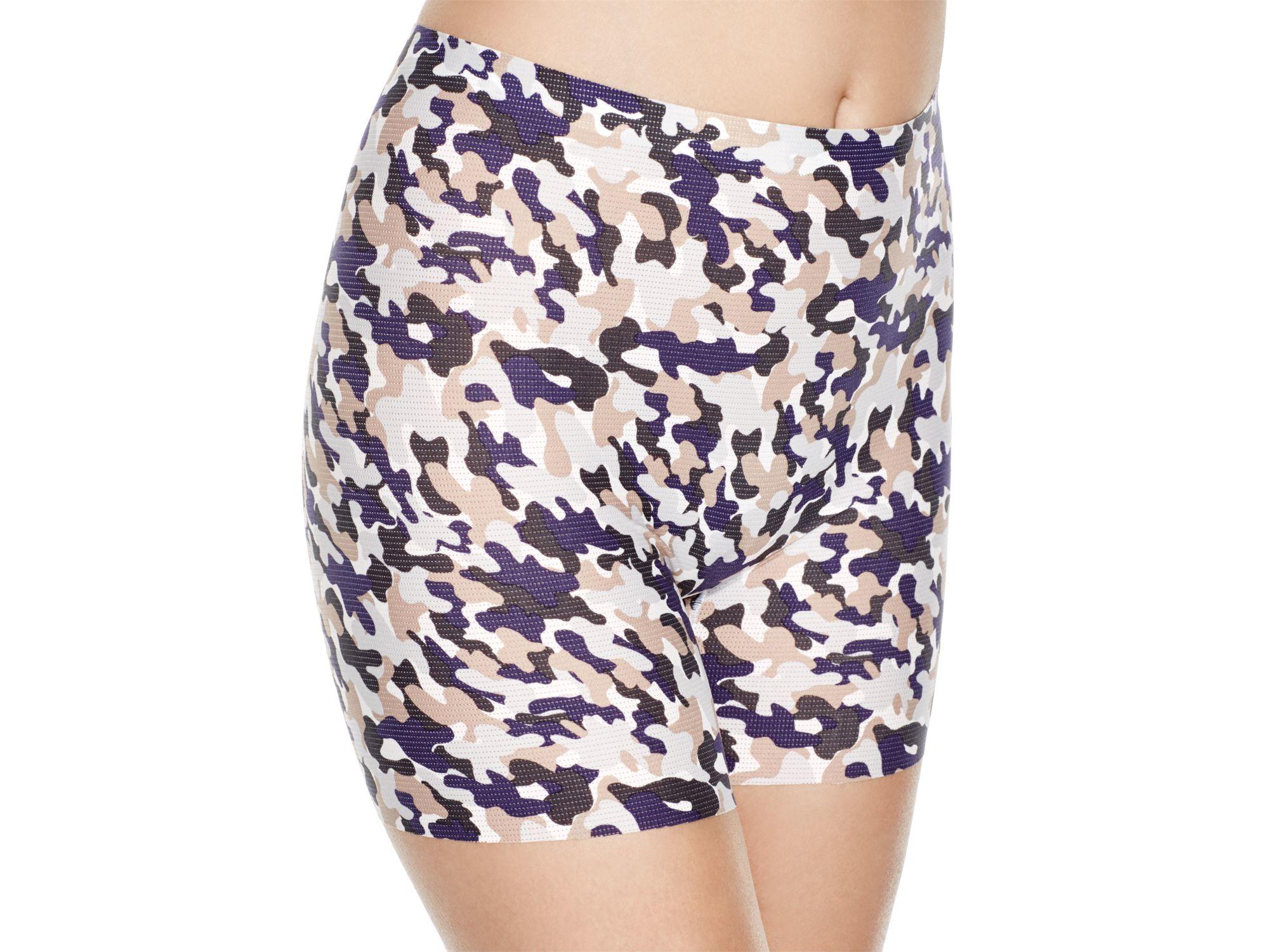 71479acaf09c4 Lyst - Spanx ® Perforated Shapewear Girl Shorts  10002r in Black