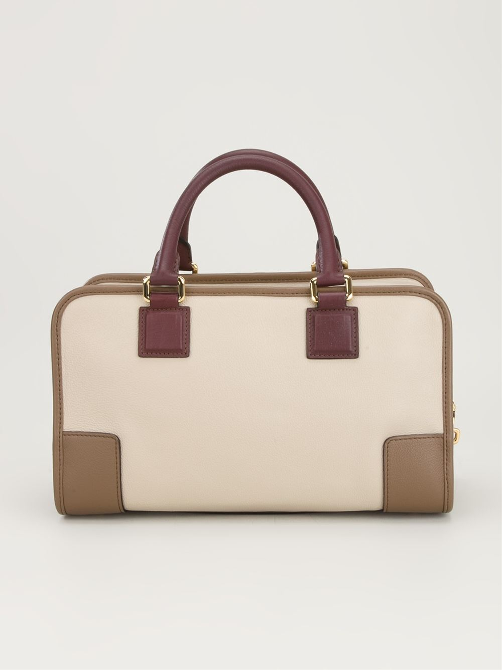 8848efedaef65 Loewe Structured Rectangle Tote Bag in Natural - Lyst