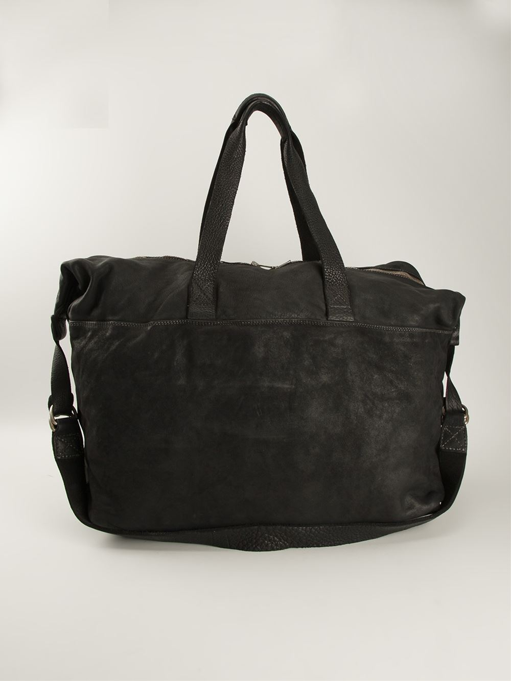 d6e1e0d6db Guidi Shoulder Bag in Black for Men - Lyst
