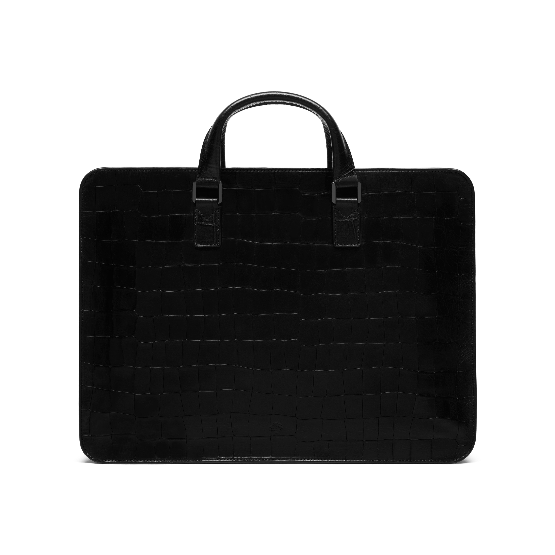 e33d571028 Mulberry Farringdon Zip in Black for Men - Lyst