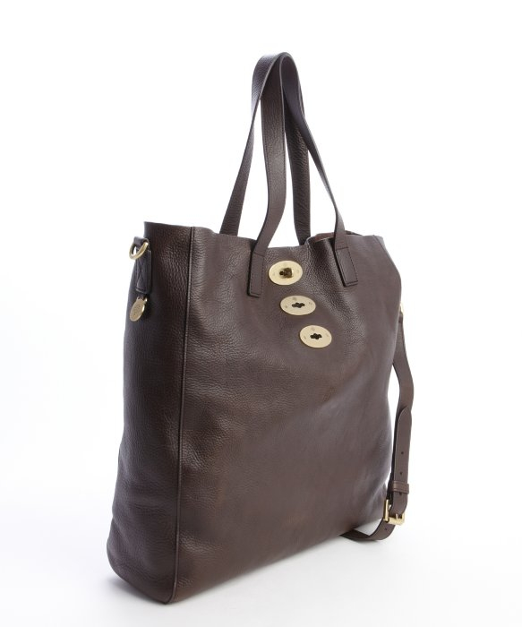 5e6e3c5f70 ... sweden lyst mulberry chocolate brown leather brynmore tote in brown  47b88 0746a