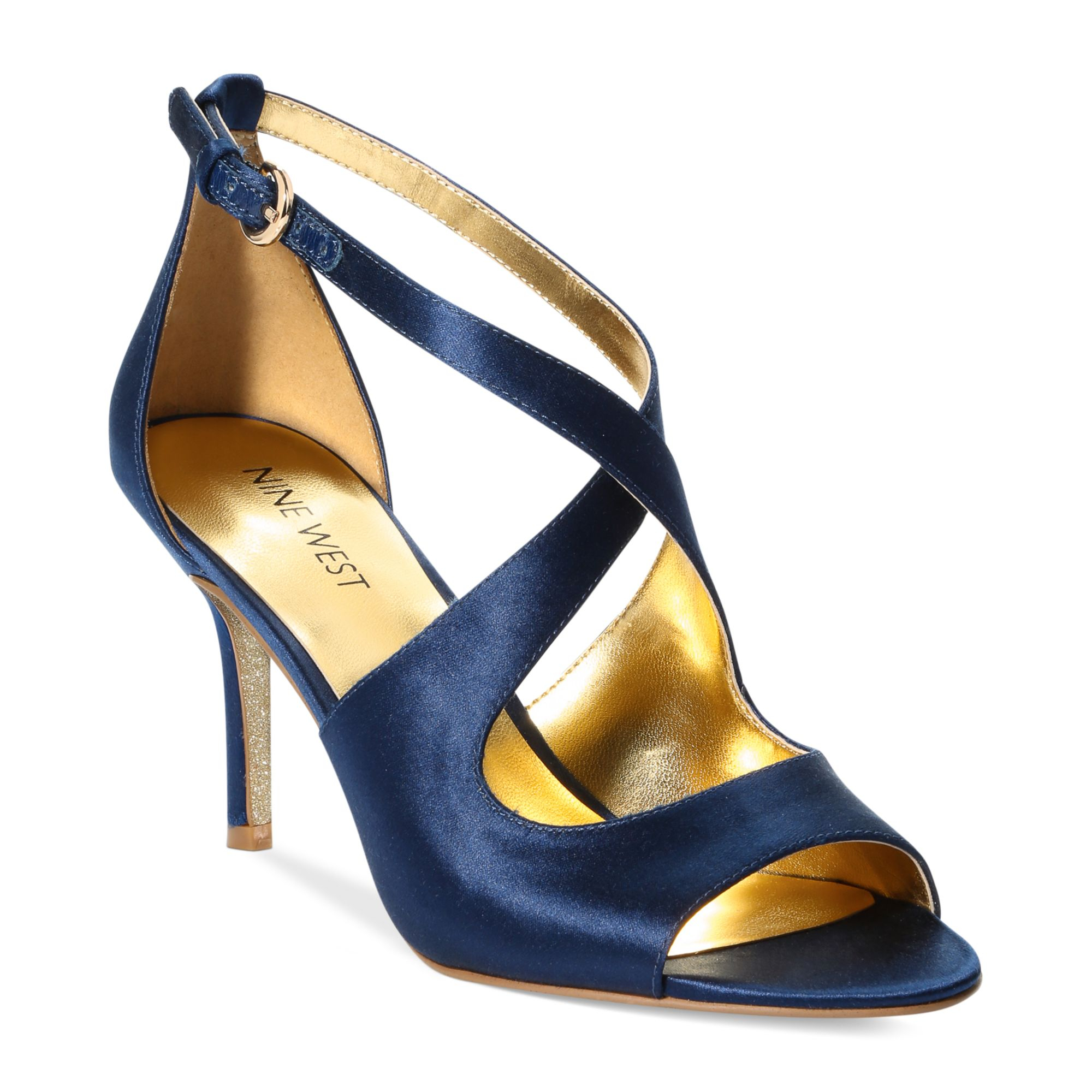 Nine West Womens Navy Shoes