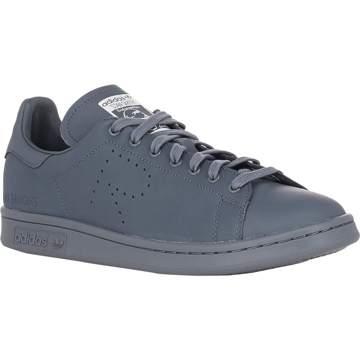 adidas by raf simons stan smith sneakers in gray for men. Black Bedroom Furniture Sets. Home Design Ideas