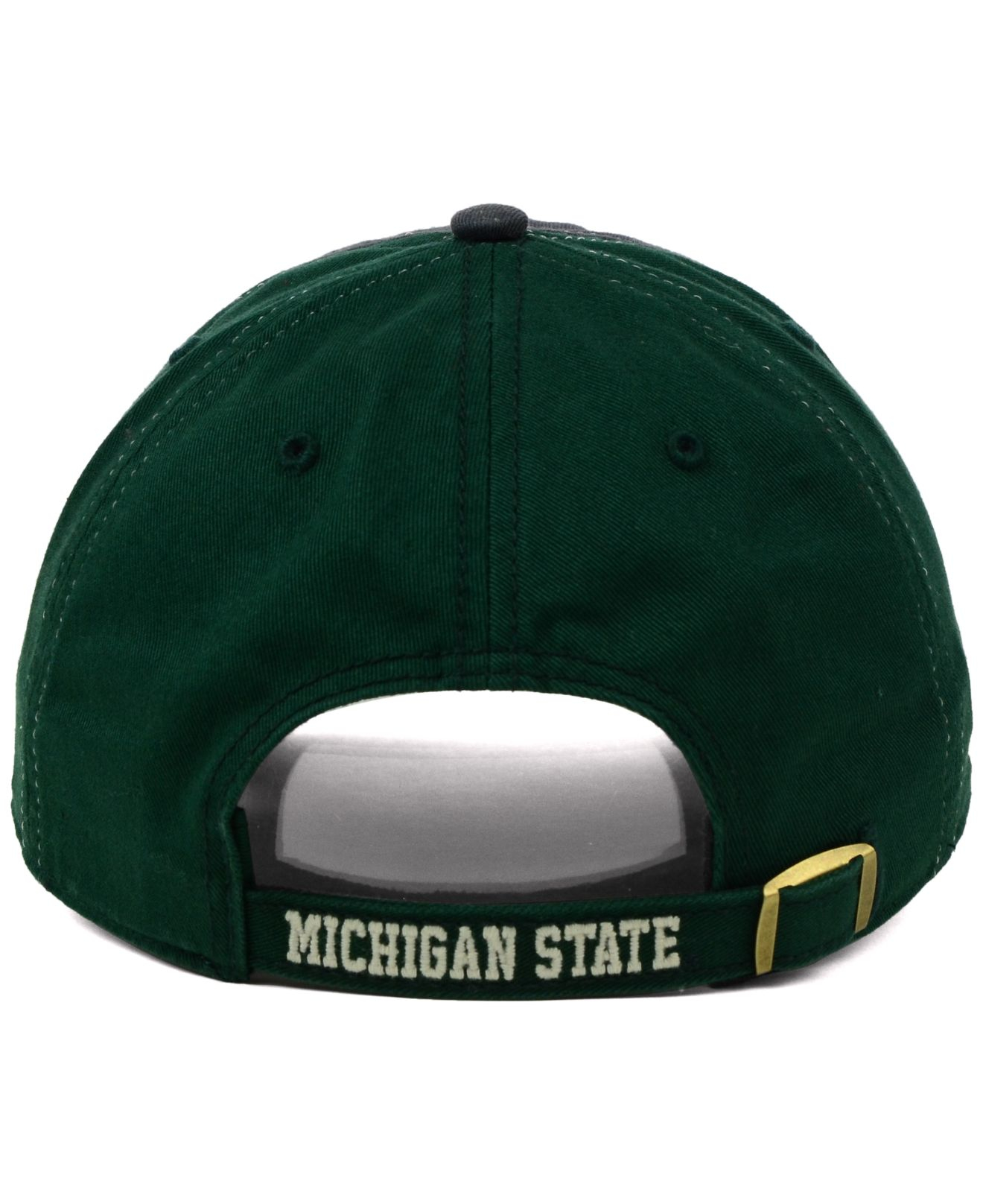 sports shoes 3969f c8404 closeout lyst 47 brand michigan state spartans clean up cap in green for  men 0fe6d ce216