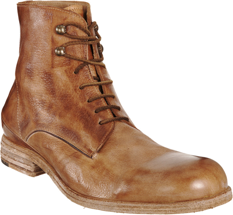 shoto derby boot in brown for lyst