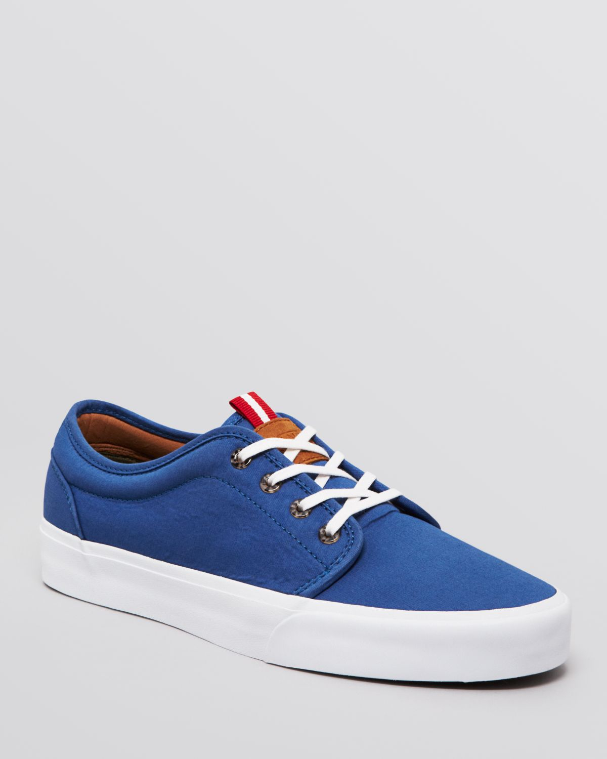 Lyst - Vans 106 Vulcanized Ca Sneakers in Blue for Men 7809a2490