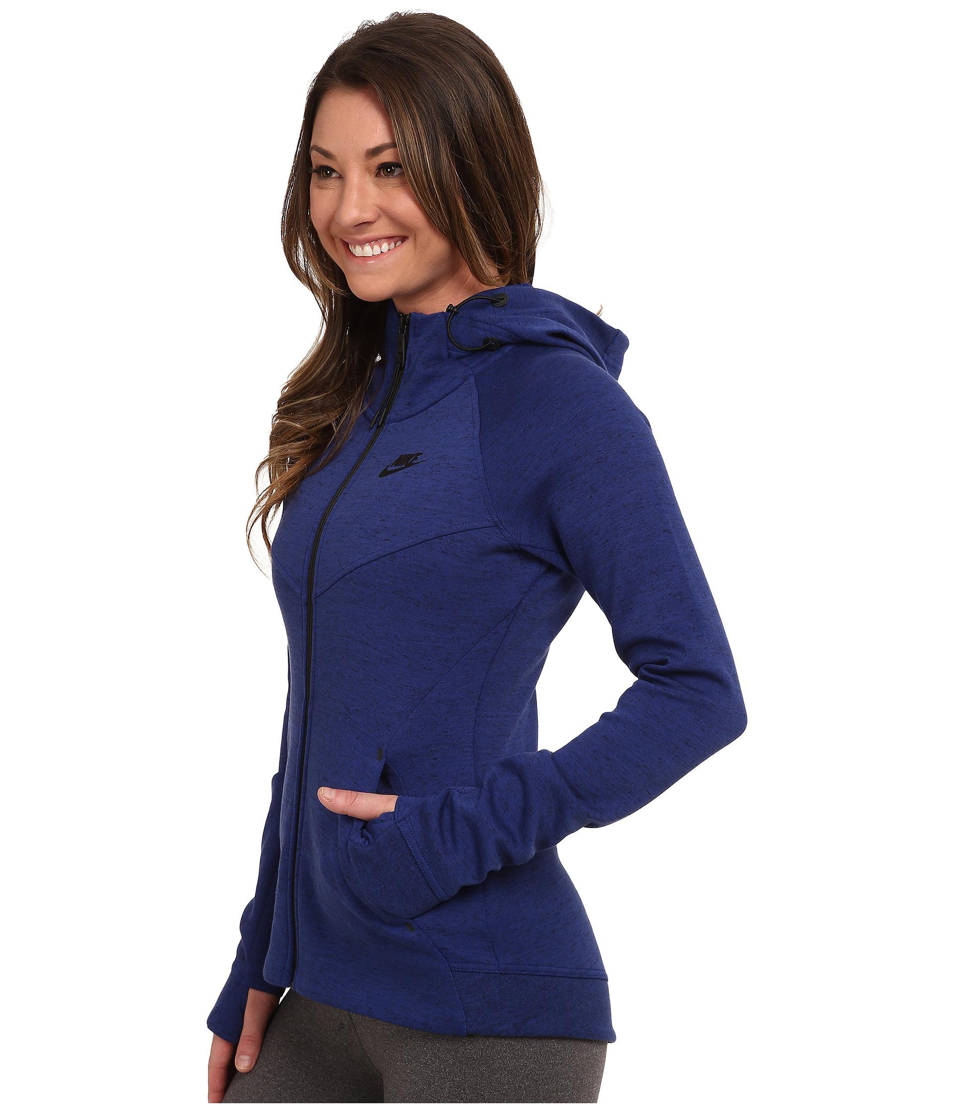ae84bff7e693 Lyst - Nike Tech Fleece Full-zip Hoodie in Blue