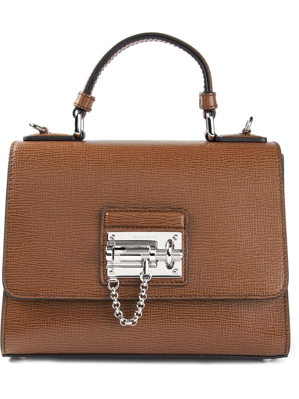 Lizard-effect Leather Shoulder Bag - Black Dolce & Gabbana ogHyAS7BM