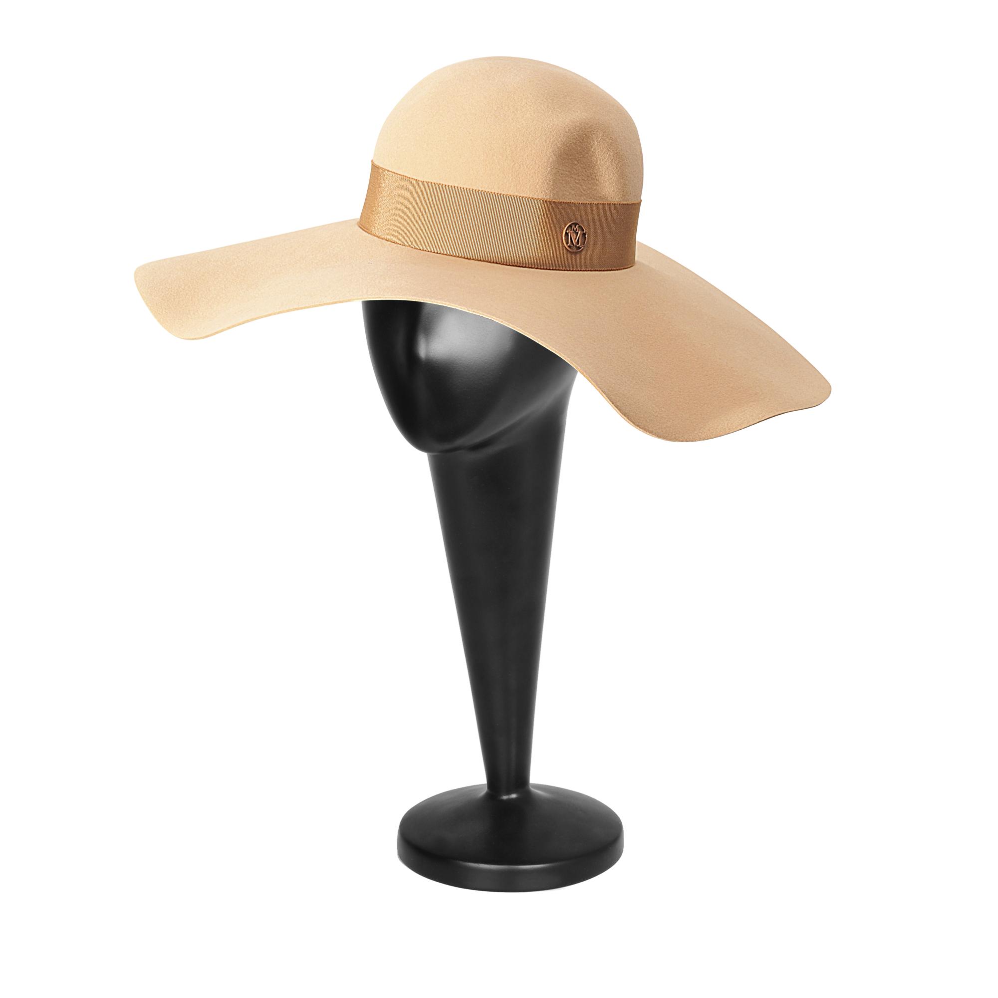 3da7ee0427e Lyst - Maison Michel Lucia Wavy Large Brim Hat in Pink