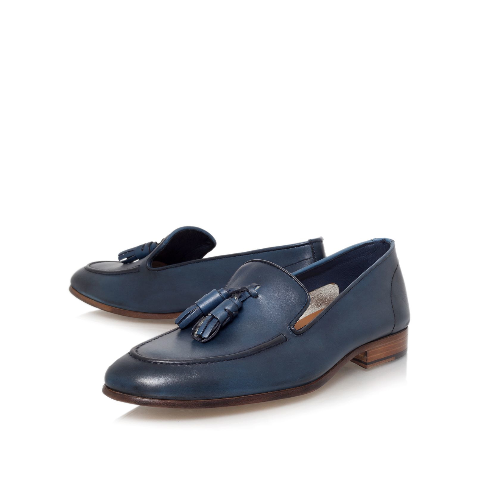 Blue Loafer Shoes