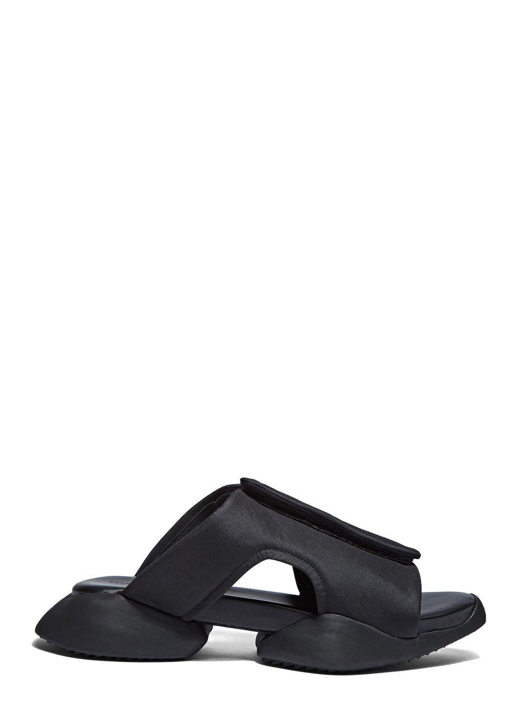 49499c8fb121d Lyst - Rick Owens X Adidas Women s Velcro Strap Ro Clog Sandals In ...