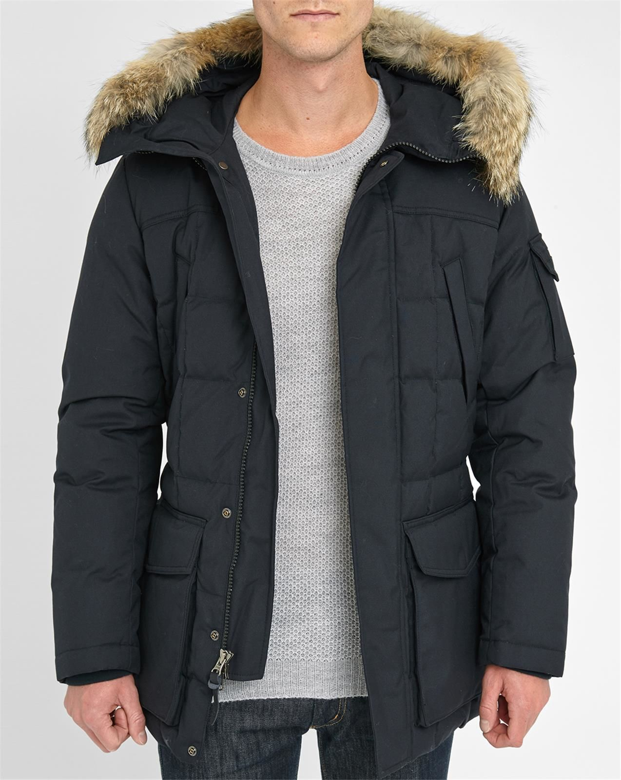 woolrich blizzard parka herren eskimo parka woolrich. Black Bedroom Furniture Sets. Home Design Ideas
