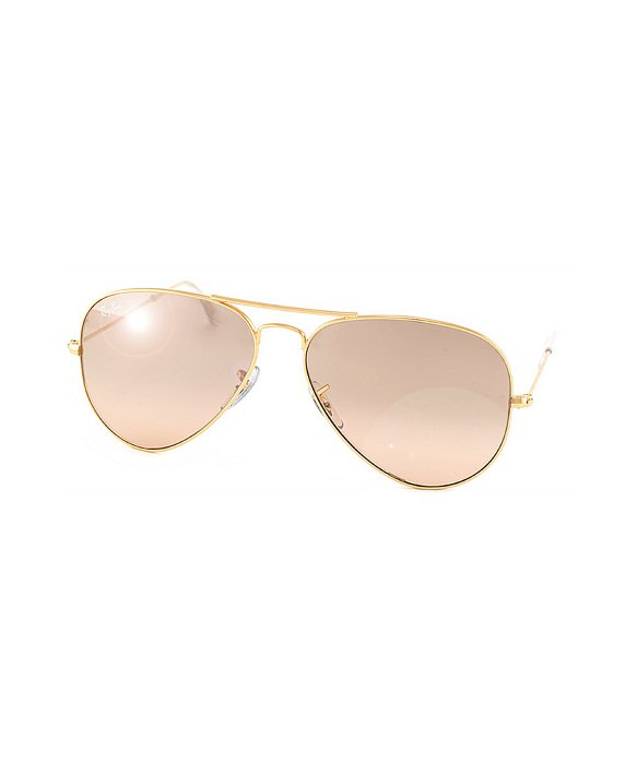9021d71ed1 Ray Ban Rb3025 Aviator Sunglasses Arista Frame Brown Photochromic ...