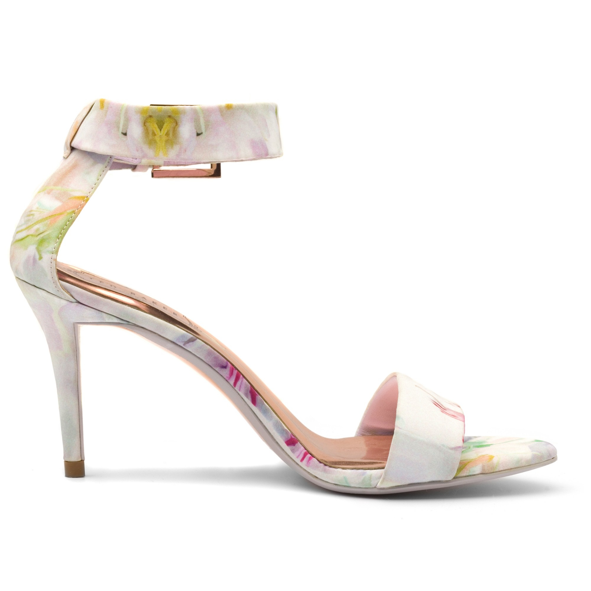 046910e934a Ted Baker Blynne Stiletto Heeled Sandals - Lyst