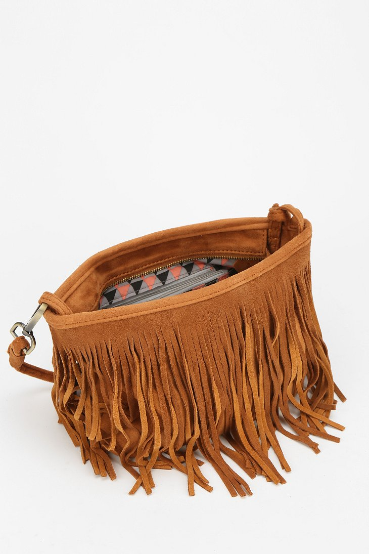 47d3fa633c26 Tan Suede Fringe Purse Best Image Ccdbb. Offbeat Tels Red Suede Fringe.  Pink Crossbody Bag Clutch Purse Shoulder. Scully Women Bags Brianne ...
