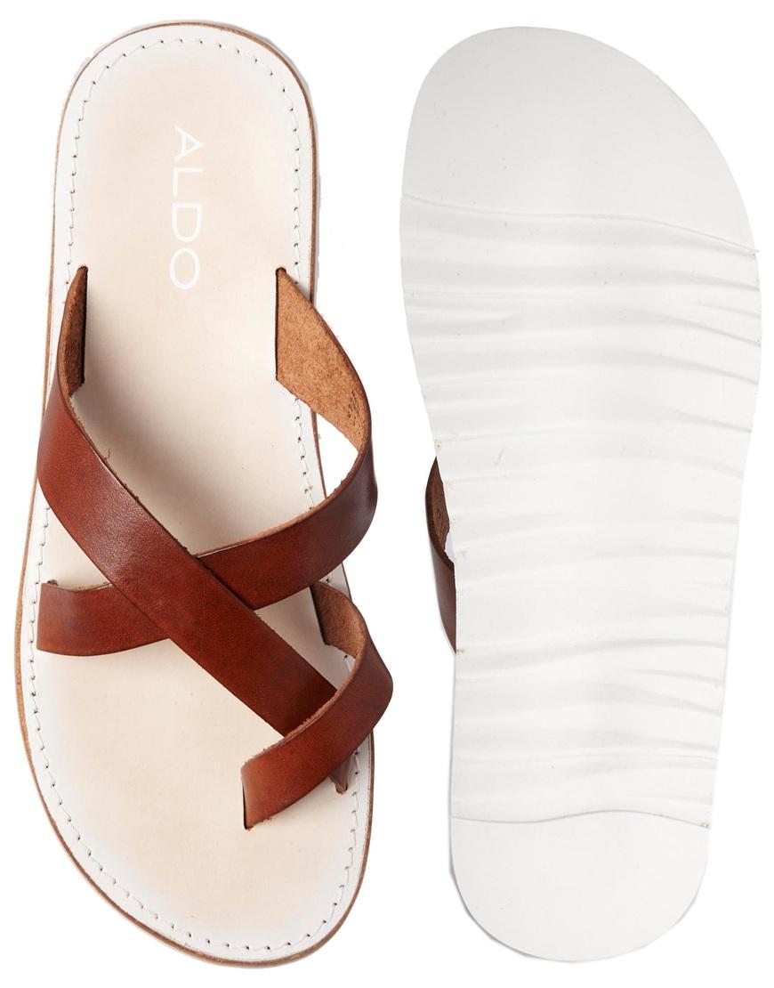 98198ef7ee55 Lyst - ALDO Lobenc Sandals in Brown for Men