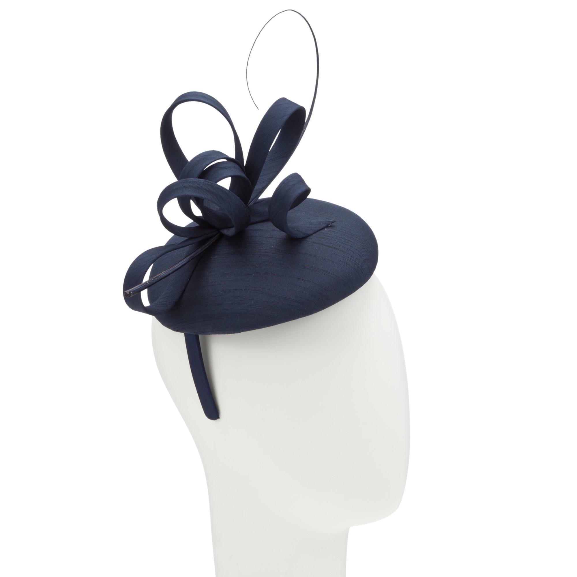 John Lewis Kiki Shantung Pillbox Hat Fascinator in Blue - Lyst 866e19c02d7