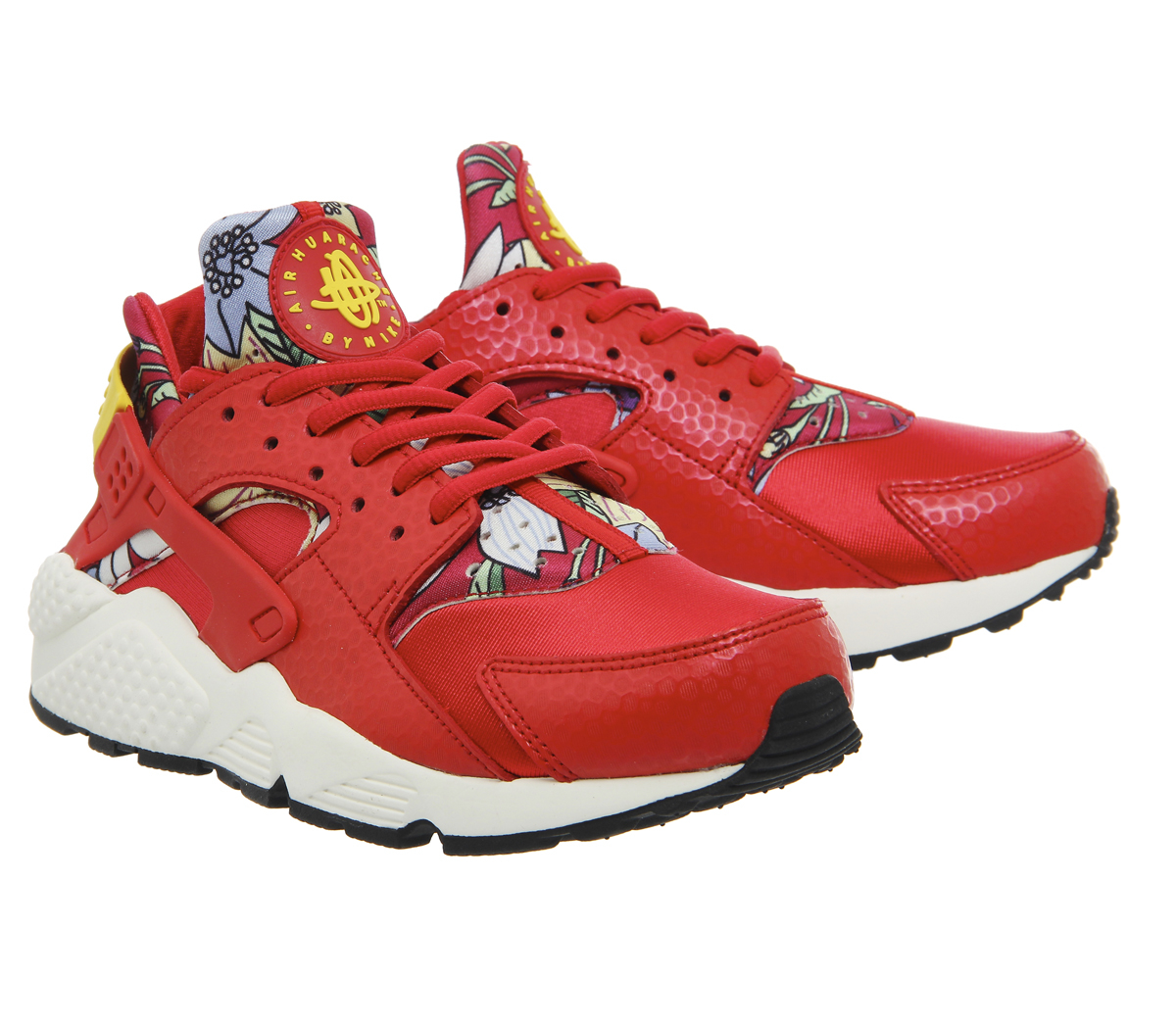 nike air huarache in red lyst. Black Bedroom Furniture Sets. Home Design Ideas